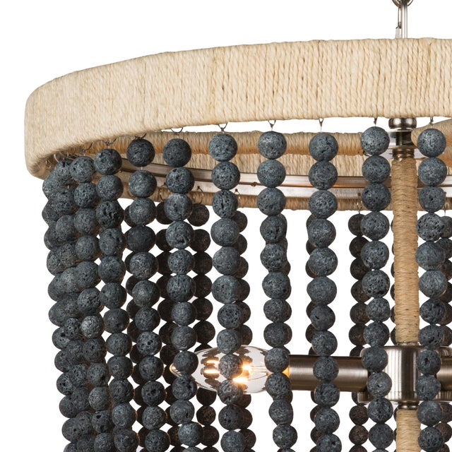 Not Yet Made - Made To Order Milos Chandelier in Denim Blue For Sale - Image 5 of 6