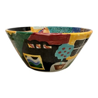 Henri Matisse Inspired Decorative Bowl For Sale