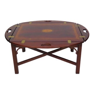 English Butler Coffee Table For Sale