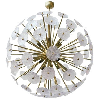 Primavera Sputnik Chandelier by Fabio Ltd For Sale