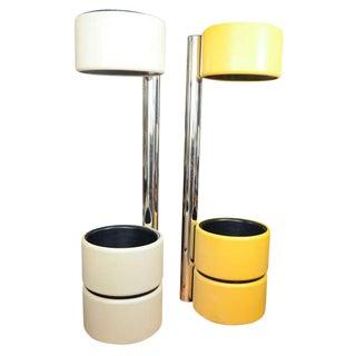Modern Amazing Unusual Italian Mod Floor Lamps For Sale