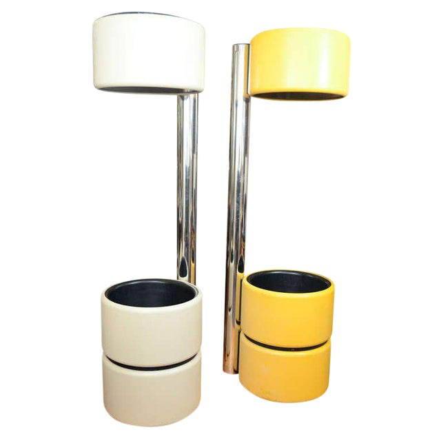 Modern Amazing Unusual Italian Mod Floor Lamps For Sale