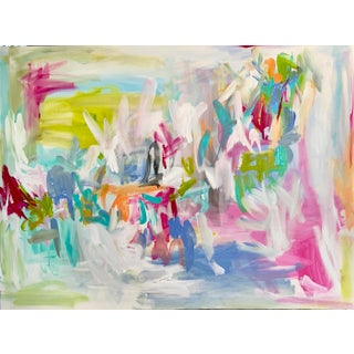 """Abstract Painting, """"Gina"""" by Ebony Boyd For Sale"""