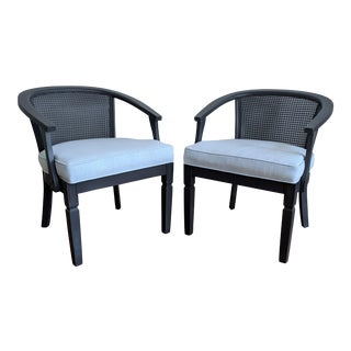Vintage Barrel Club Chairs - a Pair For Sale