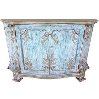 1980s French Country Style Sideboard For Sale