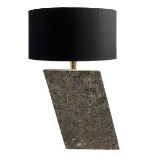1970s Angular Granite Lamp