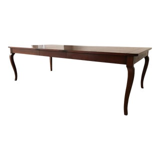 Louis XV Style Dining Table With Plank Top For Sale