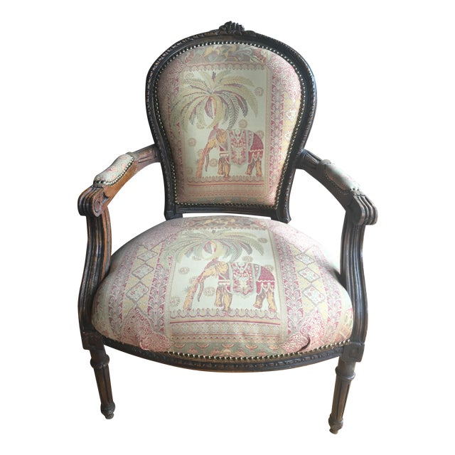 French Accent Chair - Image 1 of 7