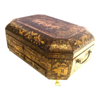 19th Century Chinese Work Box For Sale