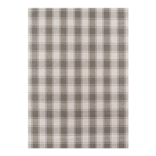Erin Gates by Momeni Marlborough Charles Grey Hand Woven Wool Area Rug - 5' X 8' For Sale