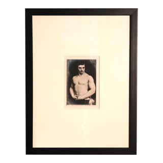 Antique Russian Bodybuilder Postcard For Sale