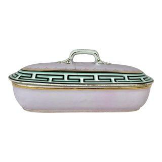 Antique Porcelain Vanity Box For Sale