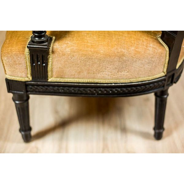 Mid 19th Century Antique Sofa from the Mid. 19th c. For Sale - Image 5 of 13
