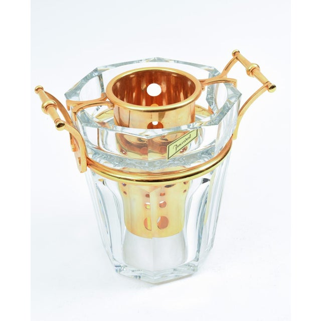 Hollywood Regency Mid-Century Baccarat Crystal Champagne / Wine Cooler Bucket For Sale - Image 3 of 13