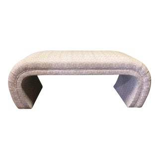 Modern Highland House Upholstered Bench For Sale
