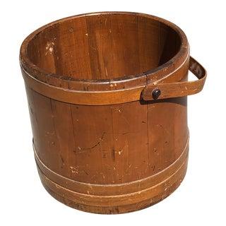 19th Century Firkin Bucket