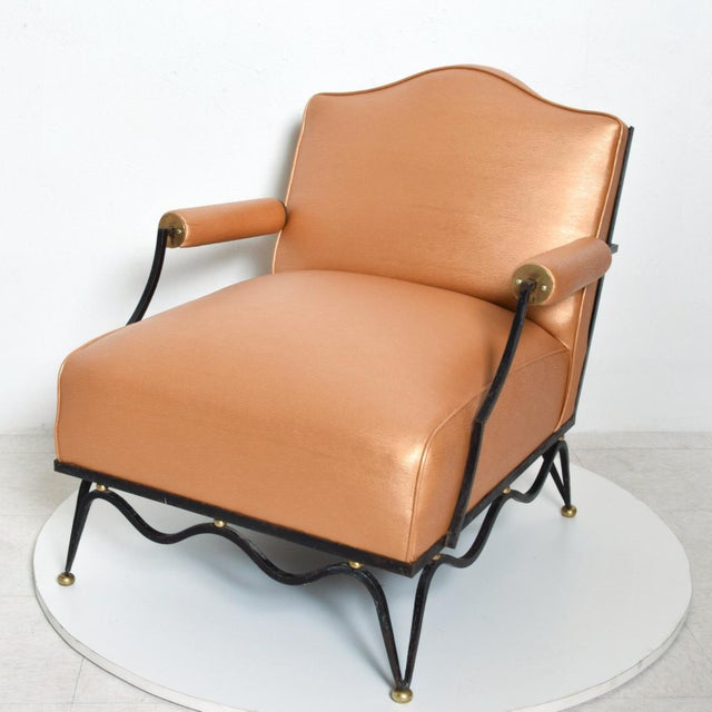 Arturo Pani French Neoclassical Revival Mexican Modernist Arm Chairs Attr Arturo Pani - a Pair For Sale - Image 4 of 12