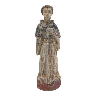 Vintage St. Francis Wall Hanging Statue
