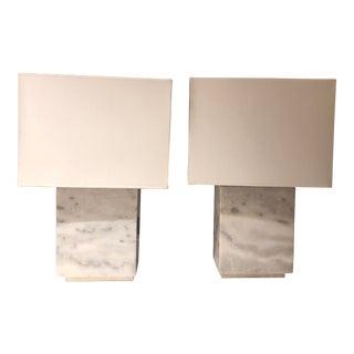 Ralph Lauren Granite Lamps - a Pair For Sale