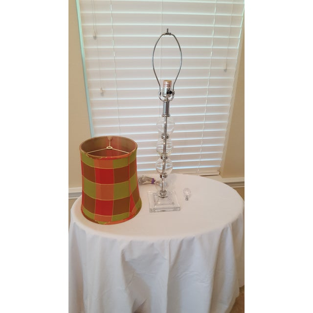 Contemporary Glass Table Lamp - Image 5 of 5