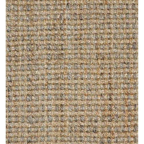 Boho Chic Costa Rica Natural/Grey Jute Rug 2 X 3 For Sale - Image 3 of 4