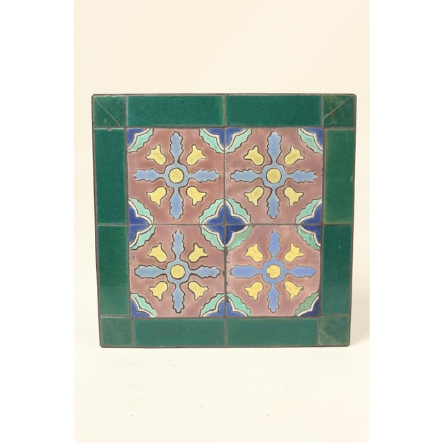 1930s Art Deco Tile Top Occasional Table For Sale - Image 4 of 11
