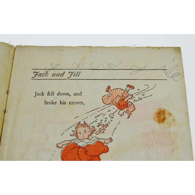 "McLoughlin Bros. ""Jack and Jill"" Children's Linen Book For Sale - Image 4 of 13"