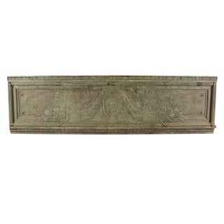 Bronze Architectural Plaque From New York City For Sale