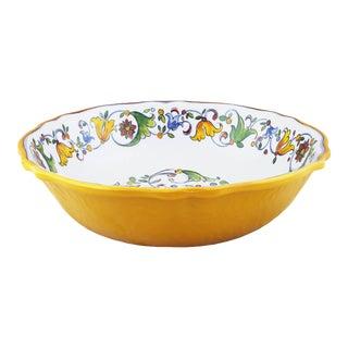 "Capri Melamine Salad Bowl, 13.75"" For Sale"