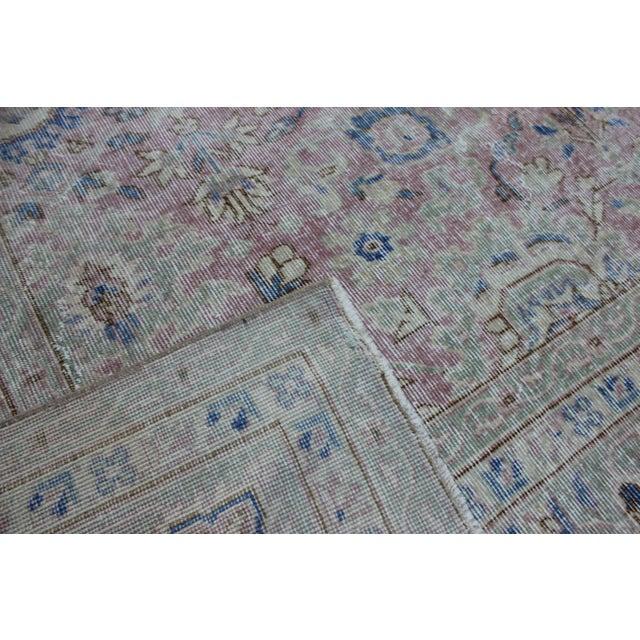 Textile Vintage Sivas Turkish Wool Rug - 8′1″ × 11′1″ For Sale - Image 7 of 8