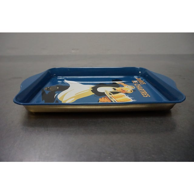 Small Blue Metal Tray - Image 4 of 5