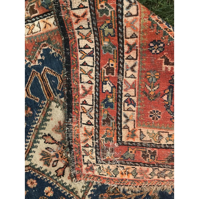 Vintage Sarouk Rug - 2′7″ × 4′2″ For Sale In Chicago - Image 6 of 8