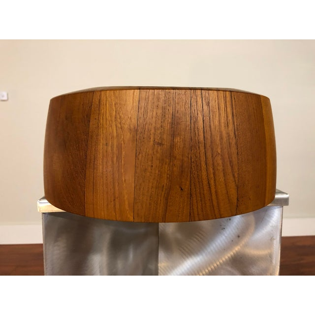 Mid-Century Modern Jens Quistgaard Staved Teak Bowl by Dansk For Sale - Image 3 of 9