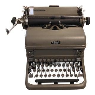 Antique Royal Industrial Typewriter