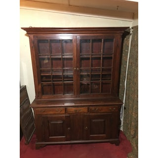 1760 Early American Pennsylvania Breakfront Cupboard Preview