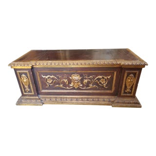 Renaissance Revival Trunk For Sale