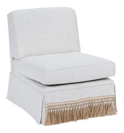 Image of Gray Slipper Chairs