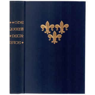 """1973 """"Limited Editions CLub, the Queen's Necklace"""" Coffee Table Book For Sale"""