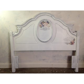French Country Style Queen Headboard Preview
