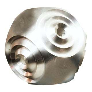 Tom Dixon Mid-Century Modern Curve Ball Steel Pendant