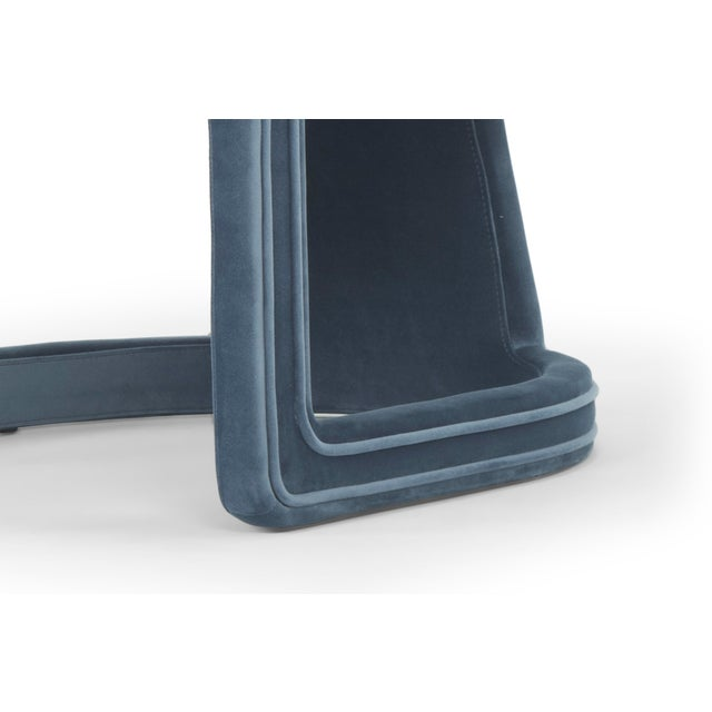 2010s Rory Side Chair in Dust Blue For Sale - Image 5 of 6