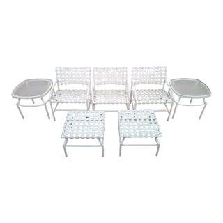 Vintage Tropitone Cantina Patio Furniture Set For Sale