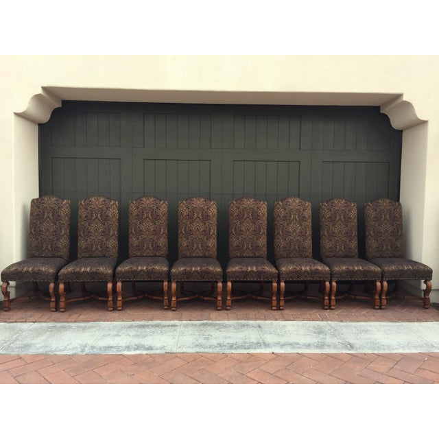 Stanley Upholstered Dining Chairs - Set of 8 - Image 2 of 6