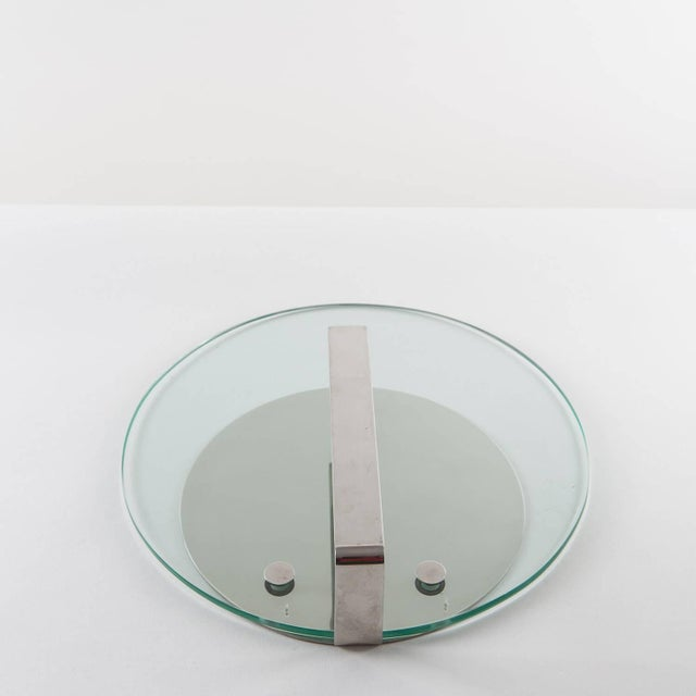 Arthur Krupp Set of Two Steel Desk Pieces by Mazza Gramigna for Krupp For Sale - Image 4 of 10
