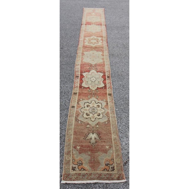 Tribal Anatolian Turkish Rug from Mid-20th Century. with bold design. It has weaved by Double Knotted technique which...