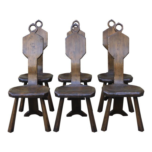 John Barbor Dining Chairs - Set of 6 - Image 1 of 9
