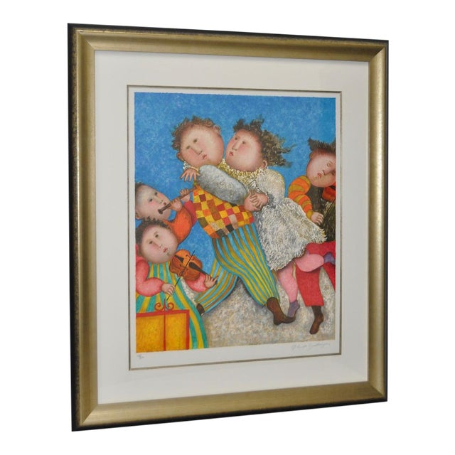 Graciela Rodo Boulanger Signed & Numbered Lithograph c.1980 - Image 1 of 9