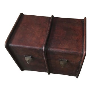 2000s European Style Leather Box For Sale