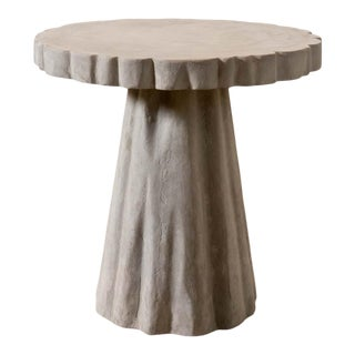 Contmeporary Made Goods Grady Stone Side Table For Sale