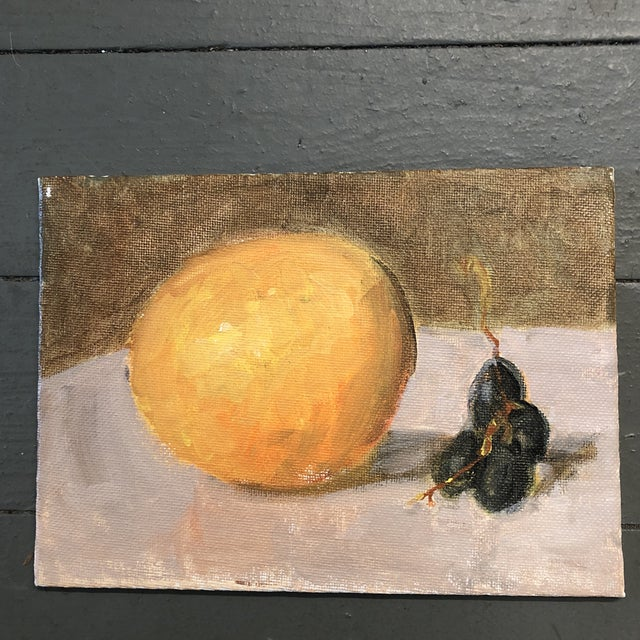 Set of 3 Original 5 x 7 on canvas board Unsigned Still Life Paintings Unframed